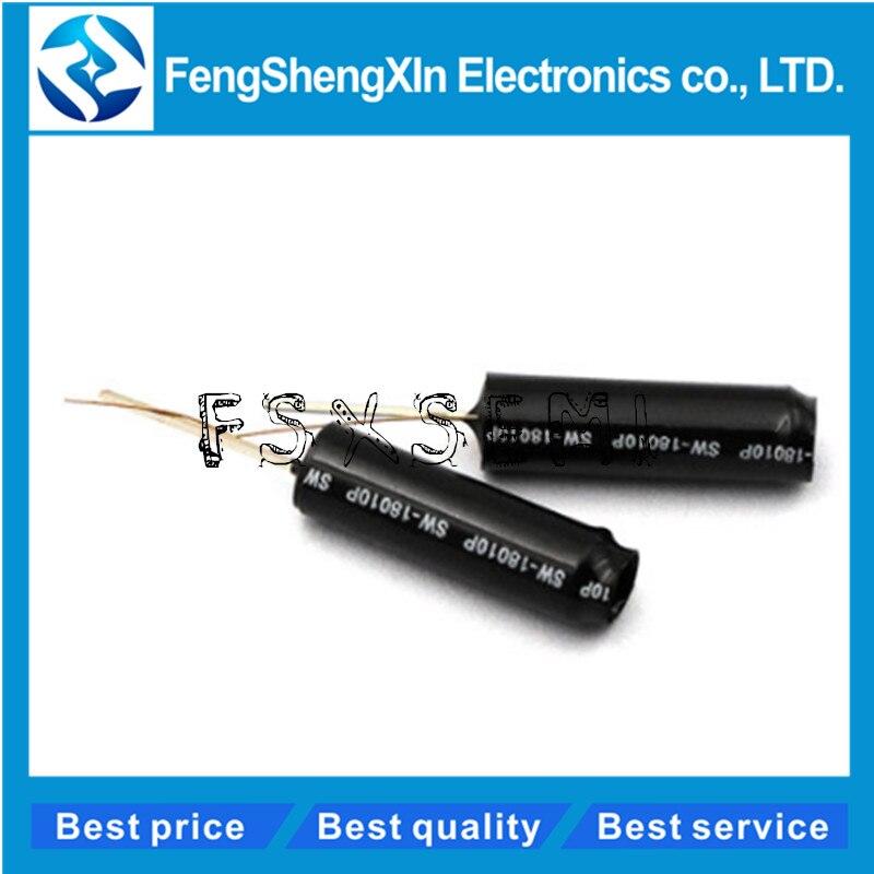 10 teile/los SW-520D SW520D SW-200D SW-18015P SW-18010P SW-18020P Vibration schalter Ball schalter Tilt schalter Doppel perle Winkel sensor