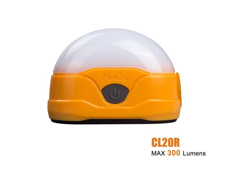 Lanterne de Camping Rechargeable haute performance FENIX CL20R 300 Lumens LED batterie li-polymère 1600mAh intégrée