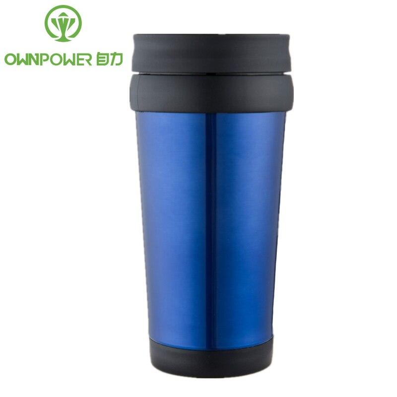 OWNPOWER noticias mi botella de agua de 400 ml botellas de acero inoxidable de Deportes de Camping al aire libre bebedería agua portátil Garrafa regalos