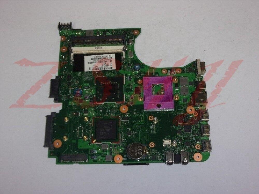 Para hp Compaq portátil de 610 placa base de computadora portátil 538407-001 6050A2256501 ddr2