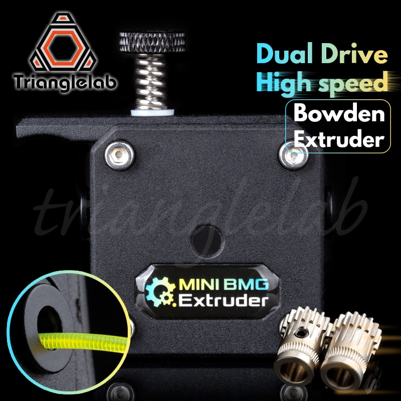 Trianglelab мини двойной привод экструдер мини BMG экструдер Боуден экструдер для 3d принтера для ender3 cr10 Анет tevo
