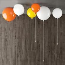 Ballon Lampe Ballon Plafond Liminaria Infantil Lampara Techo Infantil Ballon Decke Licht Kinder Baby Lamparas bunte