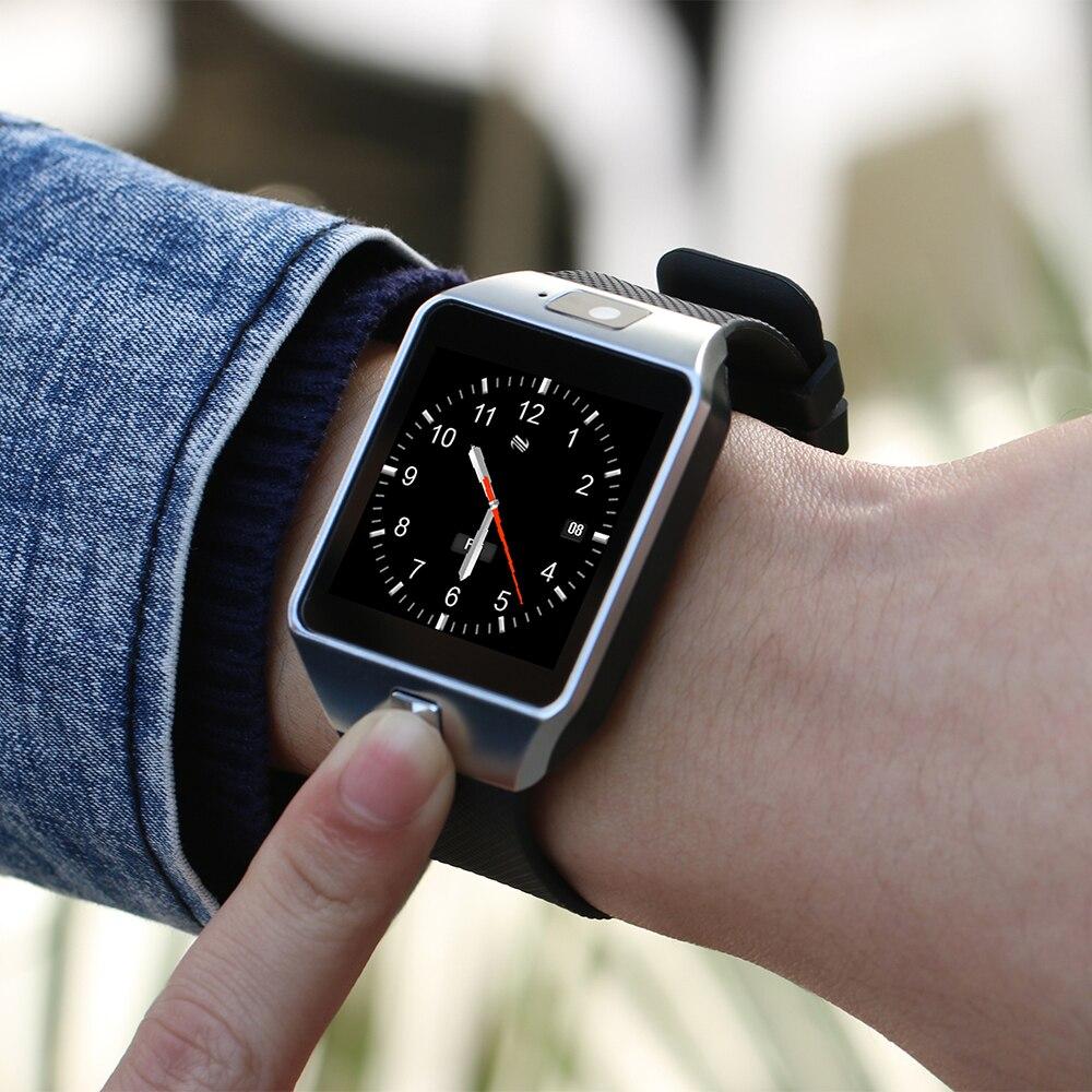 Relógio smartwatch dz09, relógio inteligente, android, chamadas, 2g, gsm, sim, cartão tf, câmera, unissex