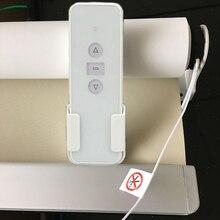 Support de store à double rouleau 1.5m   Hauteur 1.0-1.9m, tube de aveugle à rouleau de haute qualité, télécommande