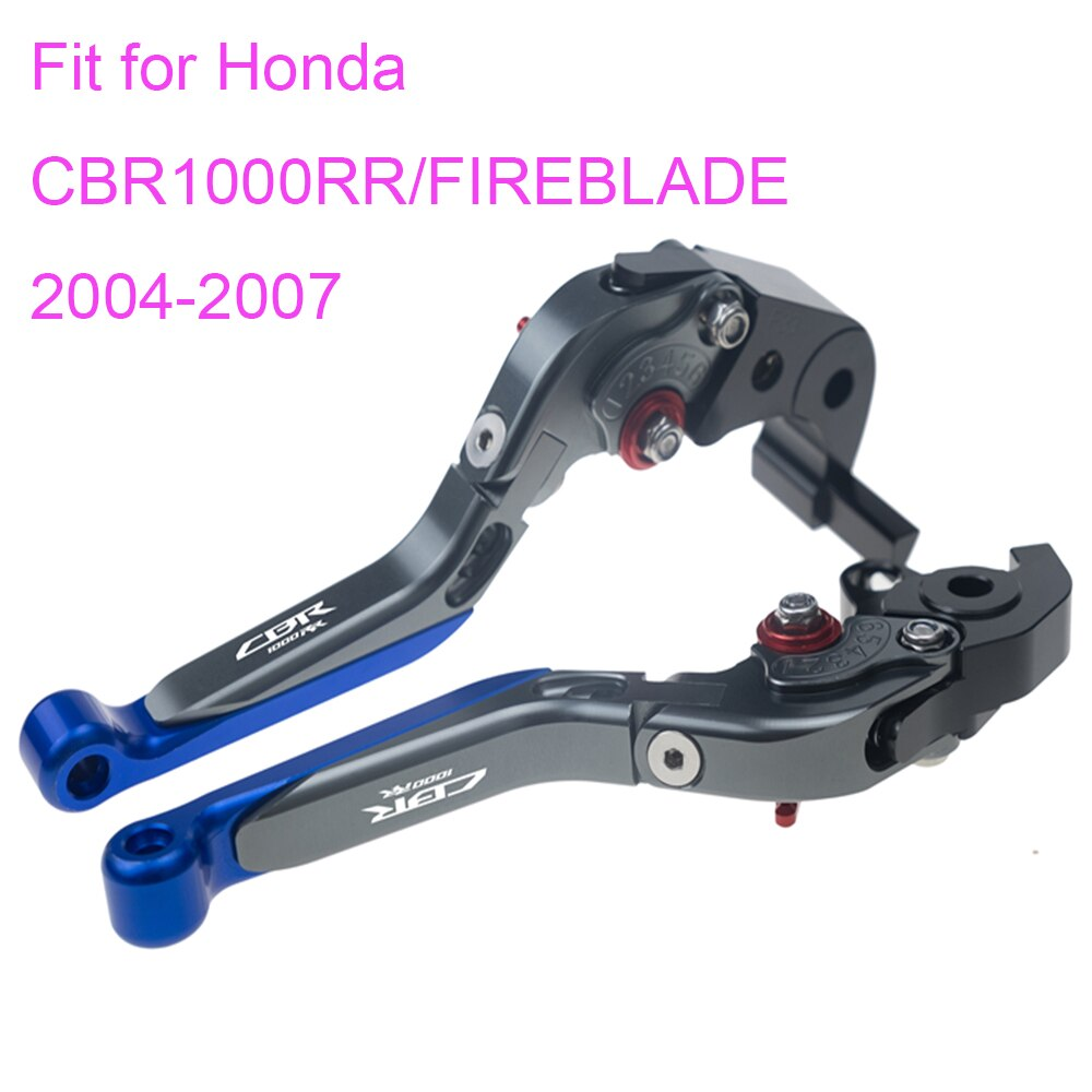 KODASKIN Left and Right Folding Extendable Brake Clutch Levers for Honda CBR1000RR/FIREBLADE 2004-2007