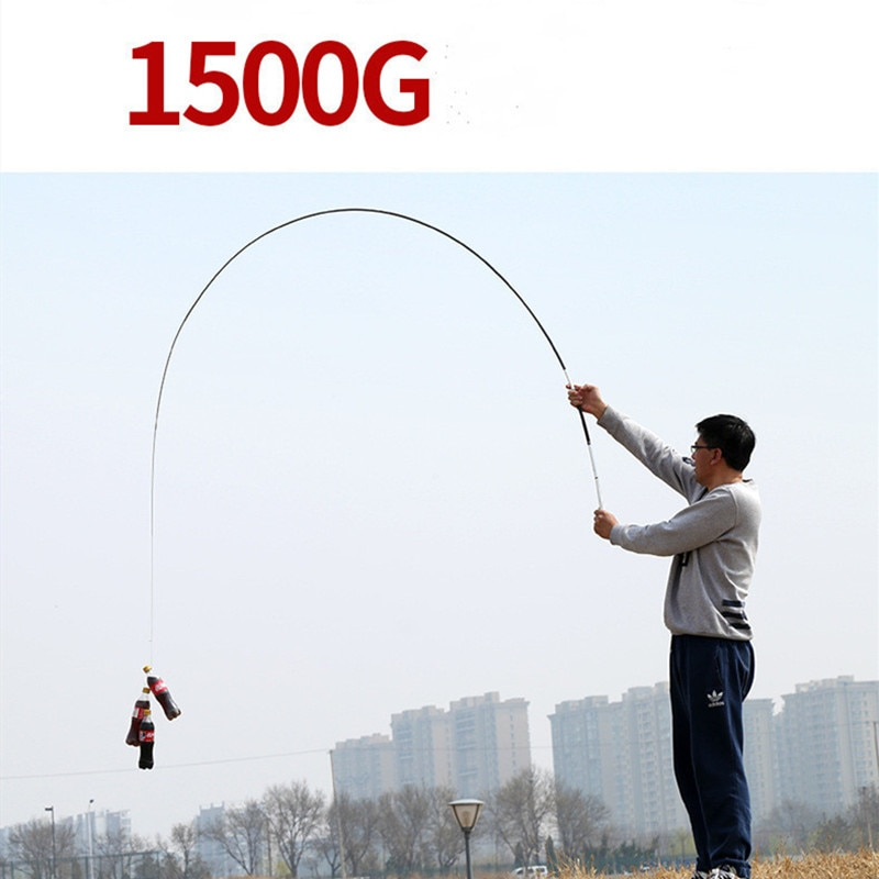 Telescopic Fishing Rod Portable Casting Rod 3.6m/4.5m/5.4m/6.3m/7.2m  Stream Carbon Fiber Carp Casting Rod feeder PPQZP