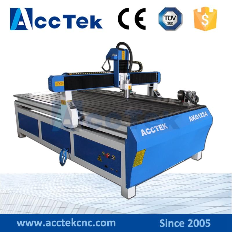Máquina de carpintería multiusos AKG1224 enrutador de madera cnc de china