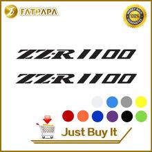 Nouvelles ventes MOTO vélo réservoir de carburant roues carénage cahier bagages casque MOTO autocollant décalcomanies pour Kawasaki ZZR 1100 ZZR1100