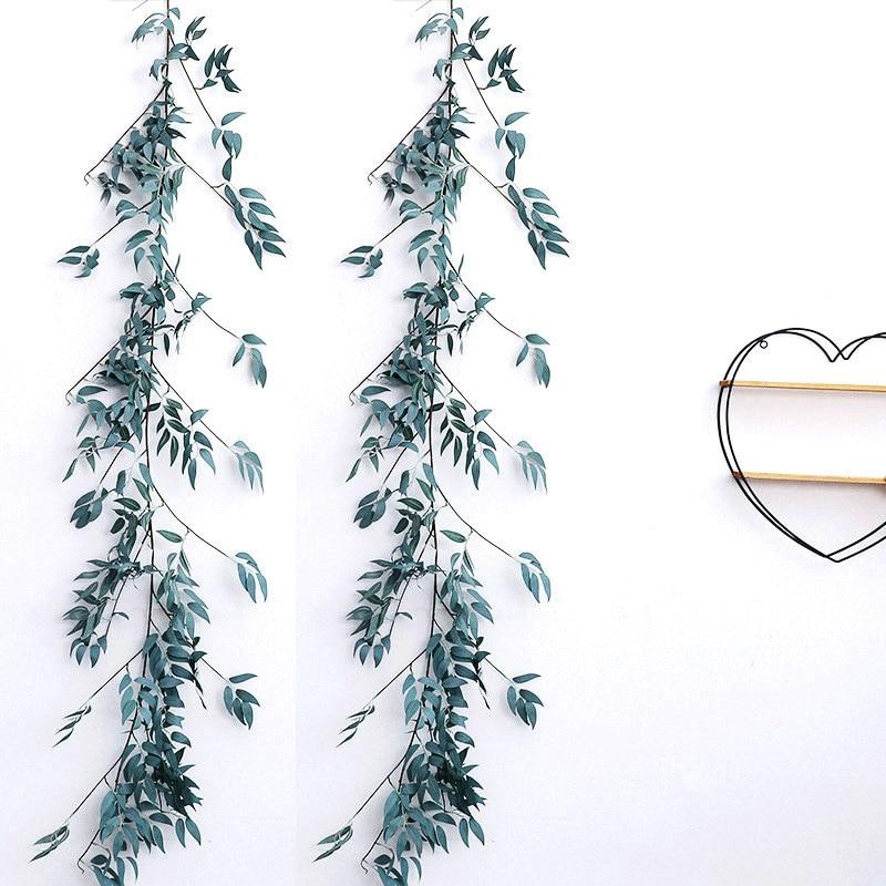 Decoração do casamento Artificial Decoração Videira Delicado Festas Artificial Ivy Folha Garland Decoração Suprimentos de decoração Para Casa 170 centímetros