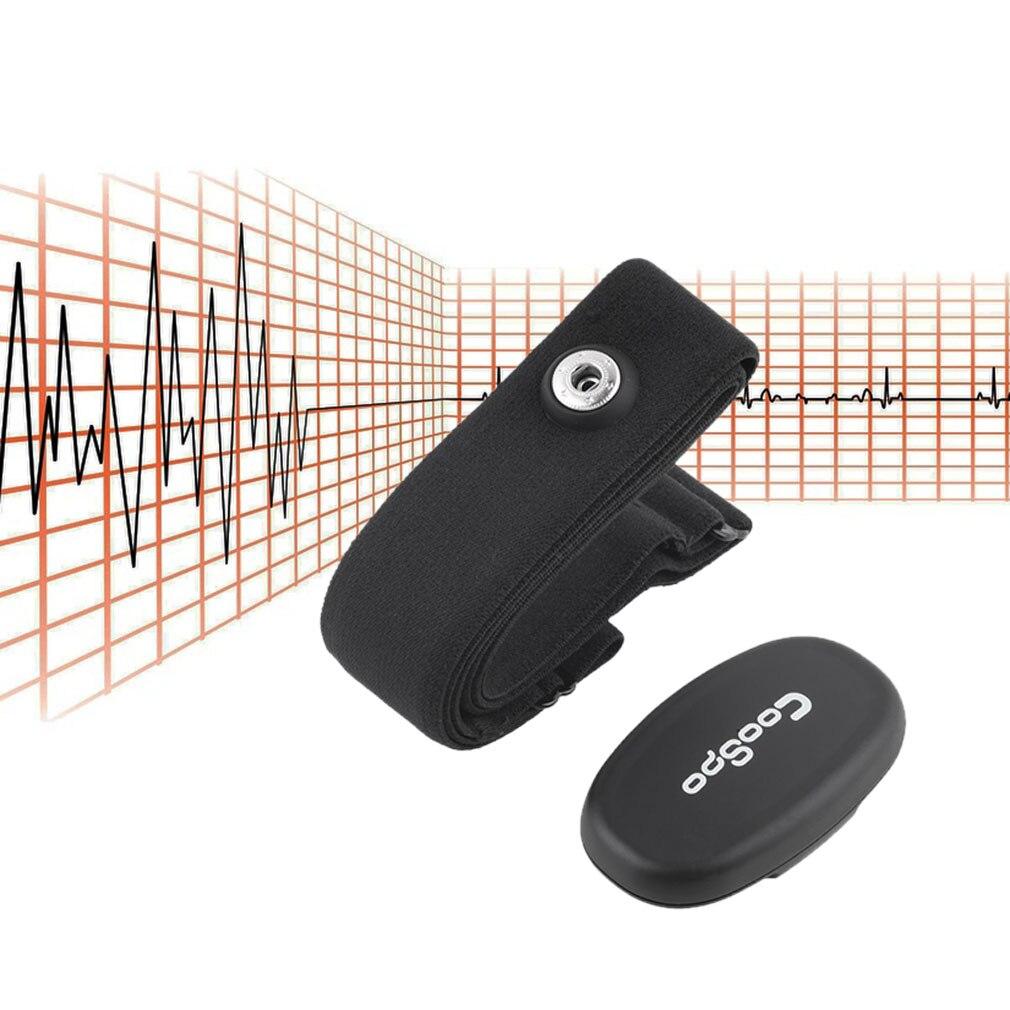 Monitor de ritmo cardíaco Bluetooth 4,0 LE deporte inalámbrico Sensor inteligente correa de pecho para iPhone 4S 5 5S 5C iPad Wahoo Fitness Fitcare caliente