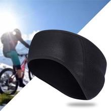 Winter Outdoor Bike Bicycle Headband Cycling Caps Windproof Fleece Warmer Ear Protection Ealstic Band Running Head Guard