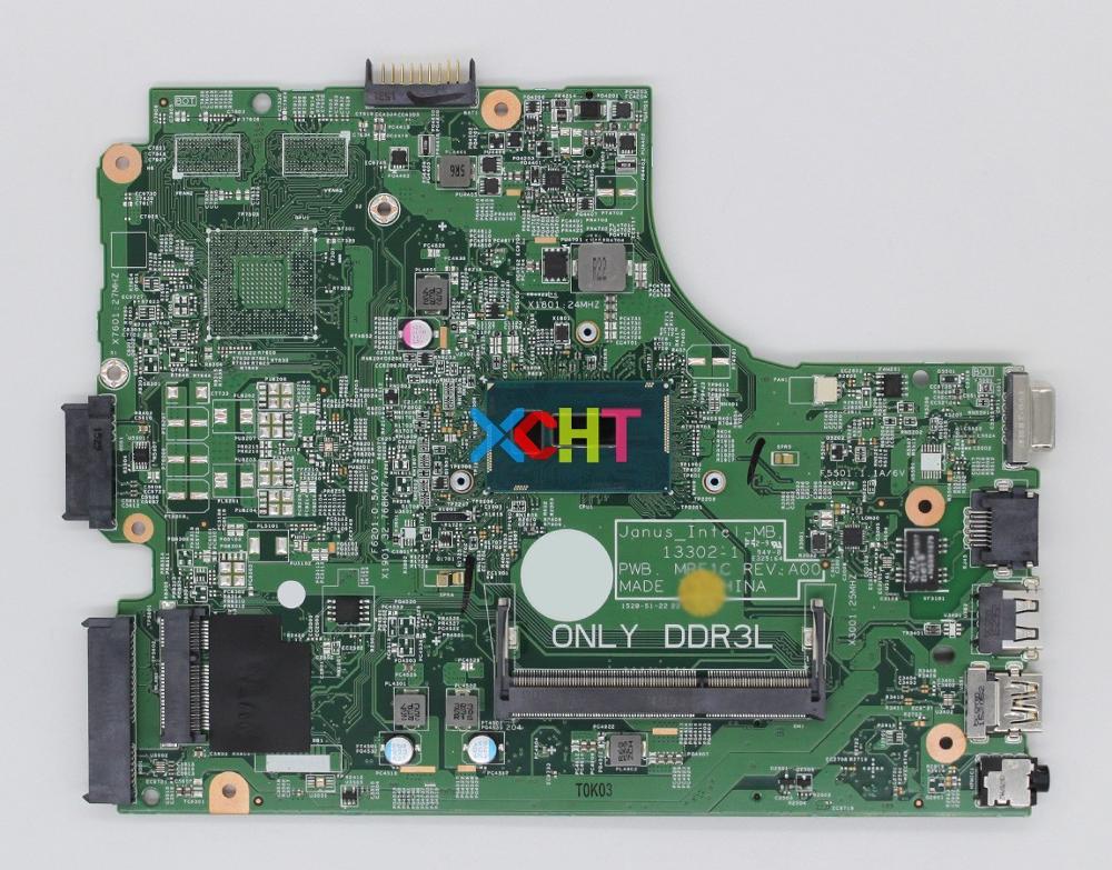Pour Dell Vostro 15 3549 V3549 NXCCW CN-0NXCCW Cel 3205U 13302-1 PWB carte mère dordinateur portable MRF1C testée