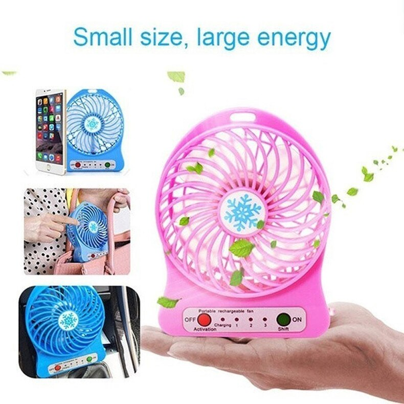 Min Fan Portable Air Conditioner Air Cooler Table Small Handheld Fan Desk  ceiling fan blade  travel fan