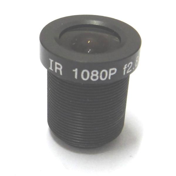 "2 pcs HD 2.8mm 115 Graus Wide Angle CCTV Conselho IR 1MP Lente 1/2. 7 ""M12 Lente IP para IP câmera CCD"