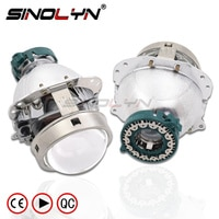 EVOX-R V2.0 D2S Bi xenon Projector Lens Headlight Replace For BMW E60 E39 X5 E53/Audi A6 C5 A8 S8/Mercedes Benz W211 209/Octavia