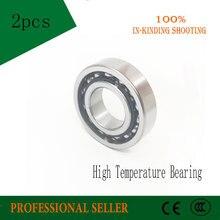 6016 80x125x22mm rodamiento de alta temperatura 2 uds 500 grados Celsius Cojinete de bolas completo TB6016