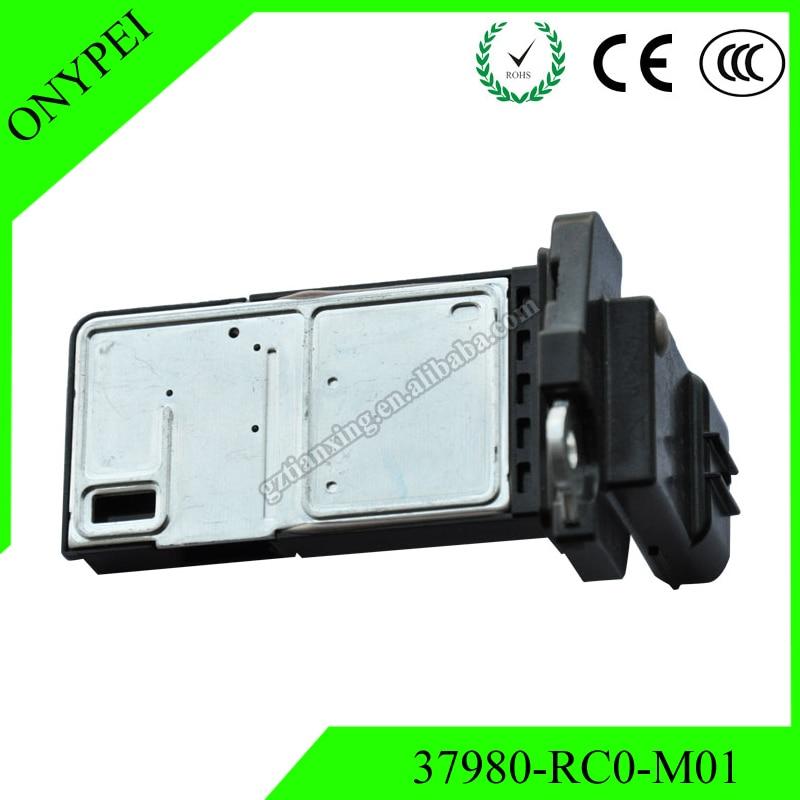 High Quality 37980-RC0-M01 AFH70M-41C Mass Air Flow Meter Sensor For Honda Accord Civic CR-Z Fit Insight 37980RC0M01 AFH70M41C