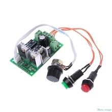 1 шт., регулятор скорости двигателя, 6 в, 12 В, 24 В постоянного тока