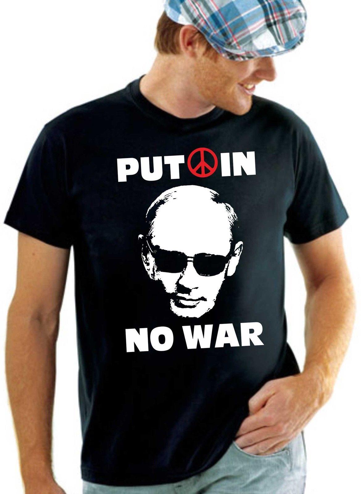 T-Shirt Putin bringe Fieden rédea Krieg nicht Ostermarsch colocar em Anti Fa Átomo