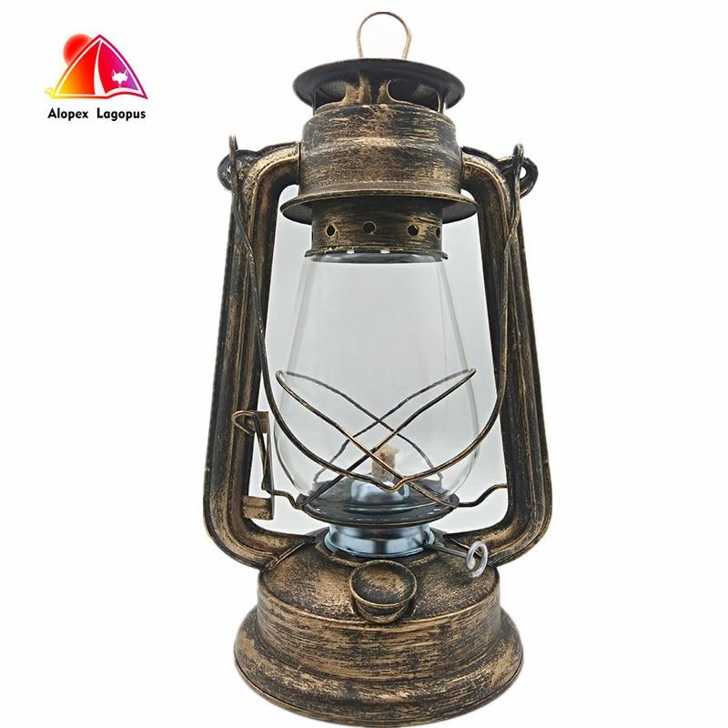 مصباح زيت كبير 31 سنتيمتر ، سطوع عالي ، سعة كبيرة 2019 ، نمط عتيق ، مصباح كيروسين ، مصباح طاولة بار ، مقهى ، LED