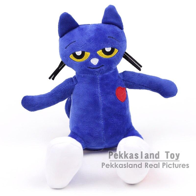 Pete The Cat Plush Toys Doll Stuffed Animal Plush Kids Xams Gift 20CM