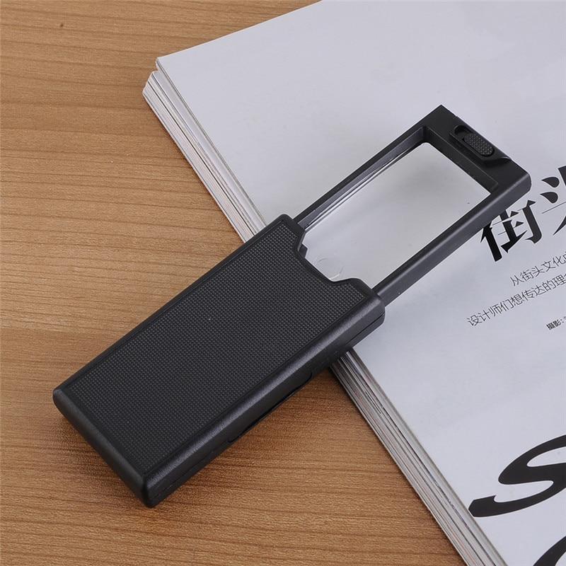 Lupa de ojo de joyero con lupa de 3LED iluminada con extracción de 2.5x 45x portátil excelente calidad