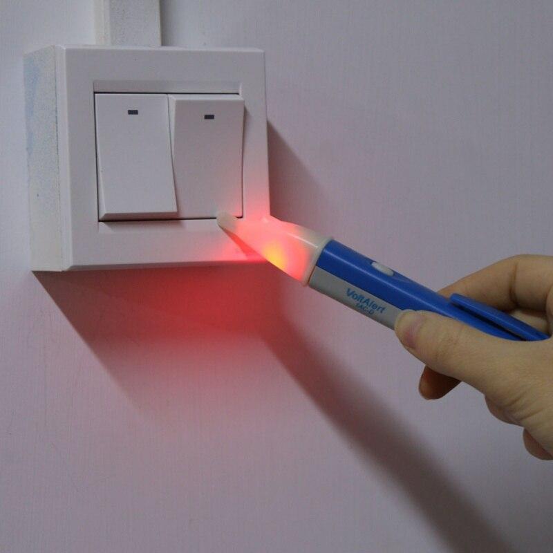 Neuheit LED Licht AC Elektrische Spannung Tester Stift Detektor 90-1000V Sensor AC Outlet Spannung Outlet Detektor
