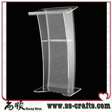 Pupitre numérique en acrylique, taille du Podium, chaire, support pour haut-parleurs. pupitre en acrylique
