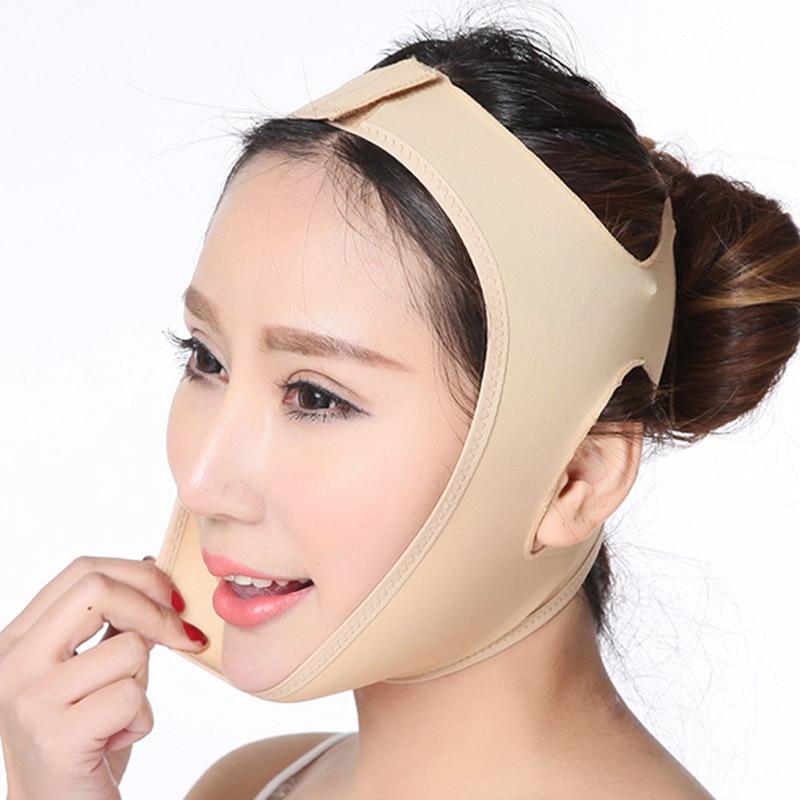 Face Thin Mask Facial Slimming Belt Double Chin Reduce Band Face Shaping Bandage Anti Wrinkle Facial Shaper Beauty Lifting Tool