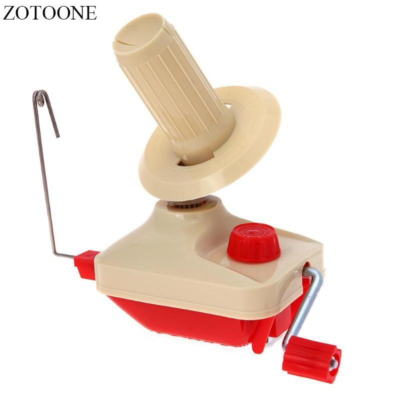 Hot Hand Operated Cable Winder Machine Fiber Wool Yarn Craft Handheld Swift Coiler for Yarn Fiber String Ball Wool Winder Holder