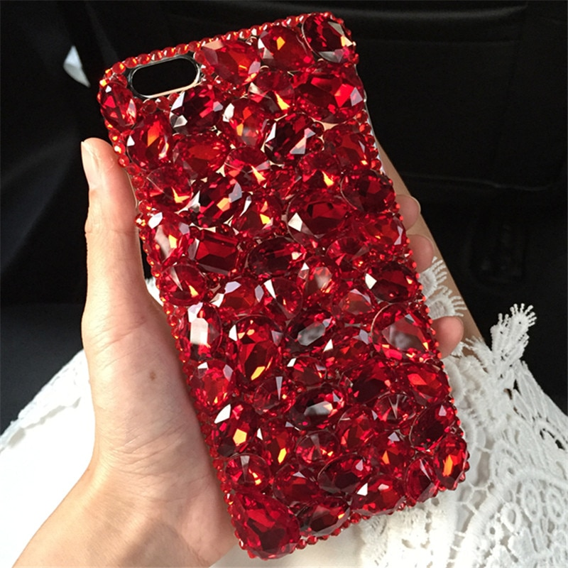 Модный чехол со стразами для Iphone 11 Pro XS Max XR X 8 7 6S Plus samsung Galaxy Note 10 9 8 S20 Ultra S10E/9/8 Plus