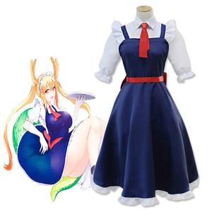 Anime Miss Kobayashi's Dragon Maid Cosplay Costumes Tooru Cosplay Costume Halloween Party Kobayashi San Chi No Maid Dragon