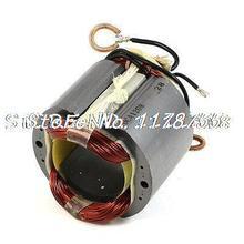 Carcasa de acero inoxidable AC220V 4 Cable Motor eléctrico estator para Hitachi TCH-355HB