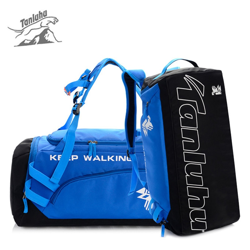TANLUHU Gym Fitness bolso mochila para hombre deportes hombro BagsTravel mochila De acampada equipaje Sac De entrenamiento deportivo XA25WA
