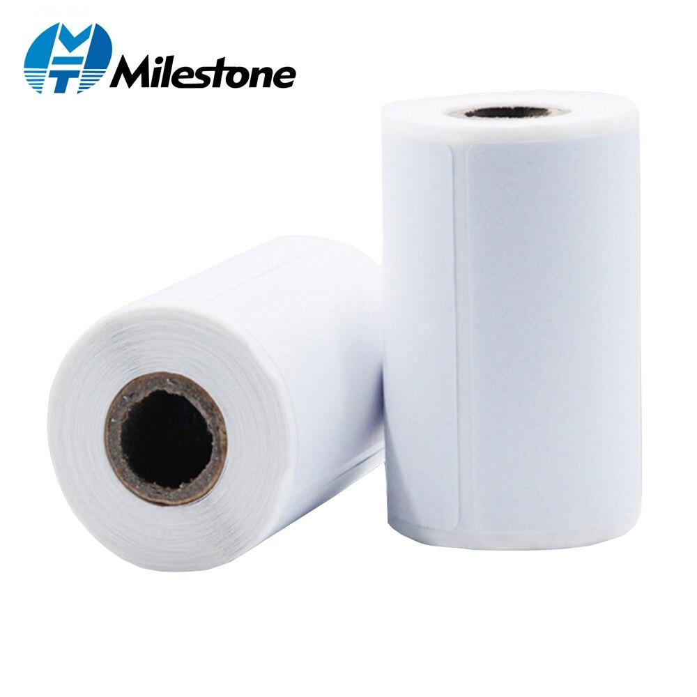 Hito 10 rollos/lote papel de etiqueta de papel 80*50*80*30*80*20mm Etiqueta de código de barras/etiqueta/adhesivo térmico papel de tipo