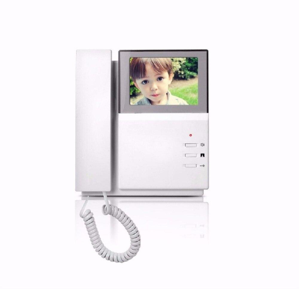 SmartYIBA-هاتف فيديو داخلي محمول بشاشة 4.3 بوصة ، ونظام اتصال داخلي بالفيديو لشقق ، ونظام اتصال داخلي بالفيديو ، وشاشة TFT LCD ملونة