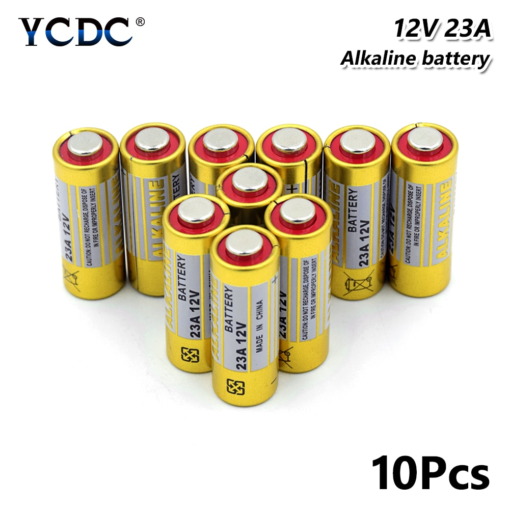 10Pcs 2020 Nieuwe Hoogwaardige 23A A23 12 V 23AE 23GA A23 A23S E23A EL12 GP23A GP23AE K23A 21/23 alkaline Batterij Lange Levensduur
