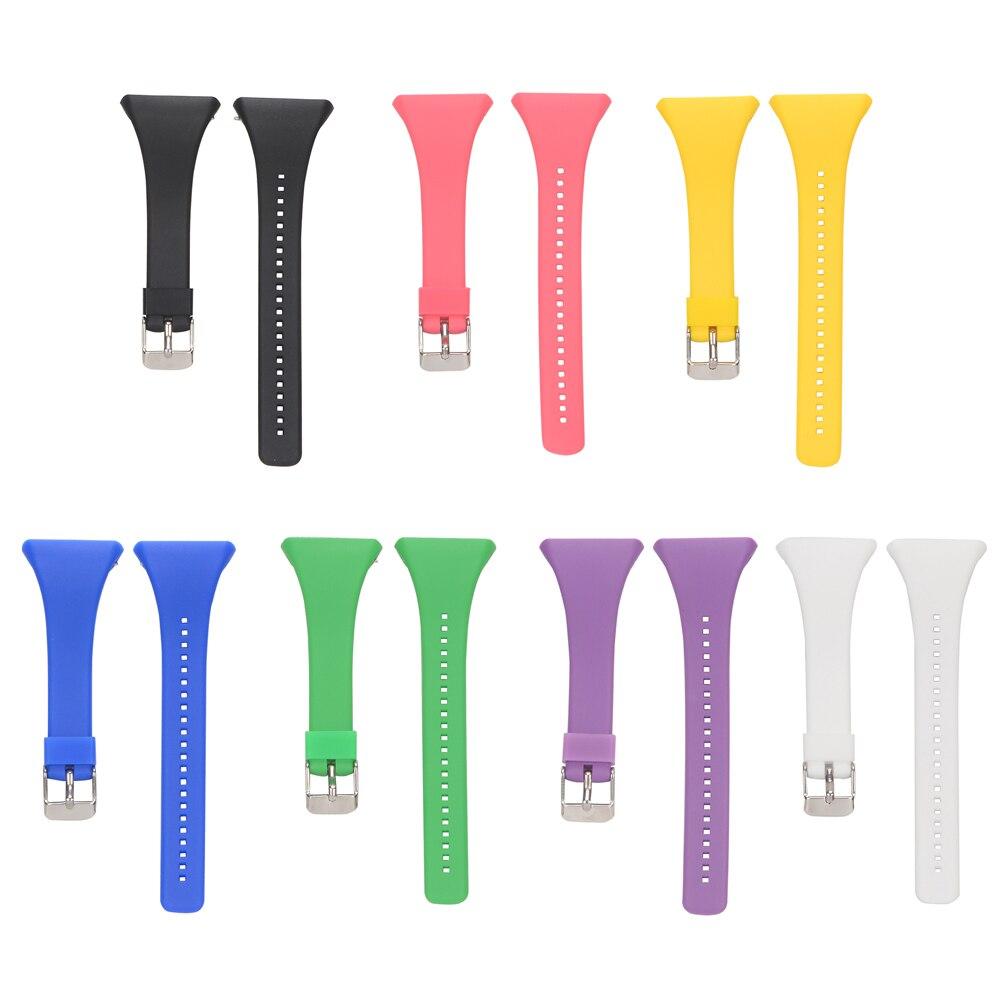 Inteligente Pulseira de Relógio Banda de Silicone Banda Pulseira de Relógio Inteligente Para FT7 POLAR FT4 Série FT Universal Strap Black White 7 cores relogio polar