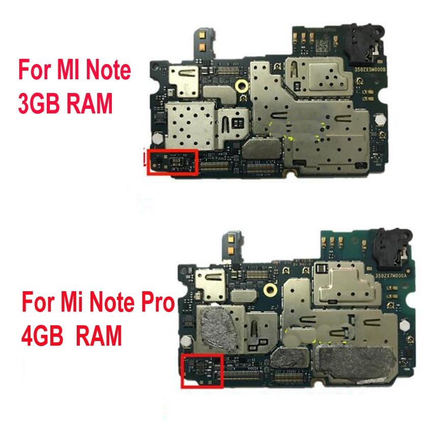 اختبار أصلي لـ Xiaomi Mi Note 16GB / MI Note Pro 64GB اللوحة الأم ، كابل فليكس ، إلغاء القفل ، اللوحة الأم