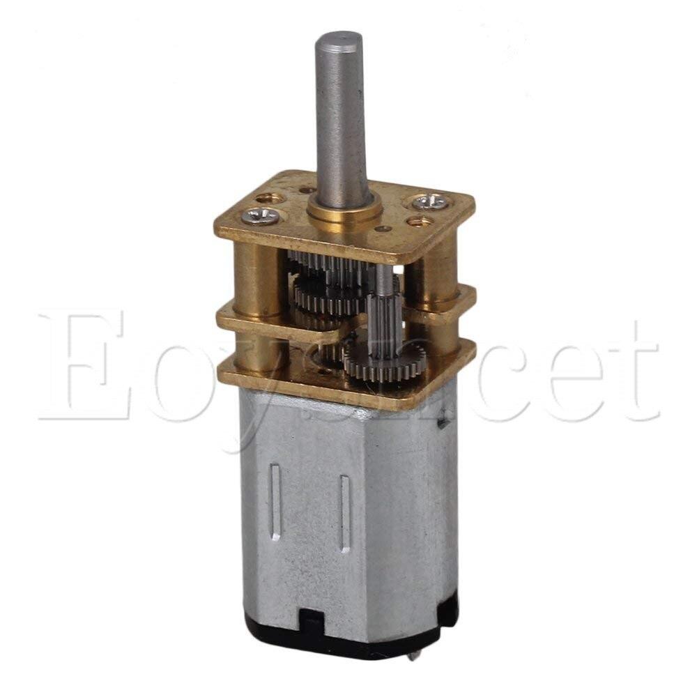 O diâmetro alto 1000 rpm do motor da c.c. 12 v 12mm reduz o motor bonde da caixa de engrenagens da velocidade