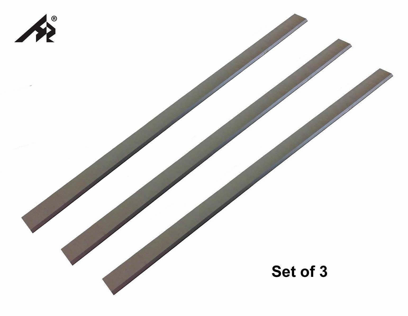 "HZ 13-1/16 ""HSS Jointer cepilladora cuchillas para Jet JPM-13 708366, Grizzly 13"" Delta-Juego de 3"