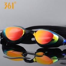 361 Myopia Swimming Goggles Men and Women Adult  HD Waterproof Anti-fog Prescription Swimming Glasses Sports Equipment