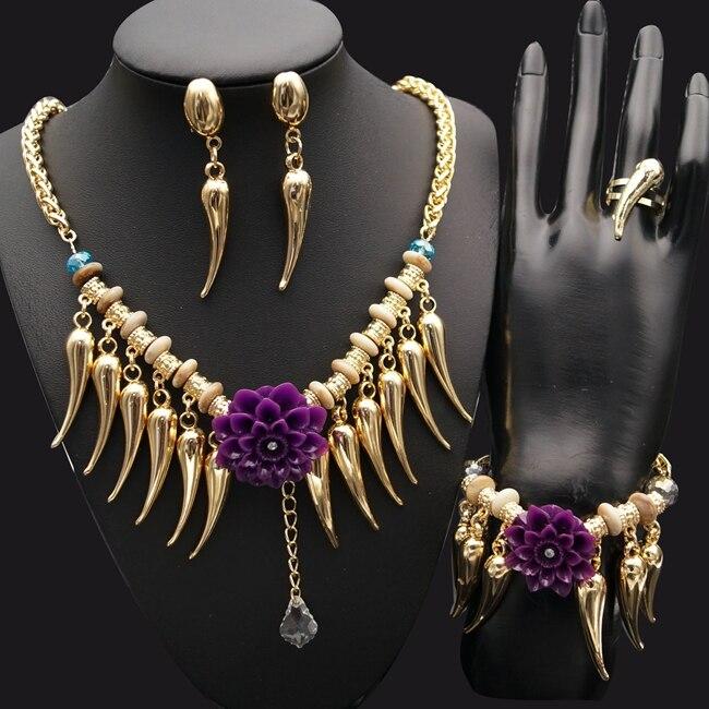 Yulaili 2018 regalo nupcial joyería fabricante elegancia y elegantes conjuntos de joyería
