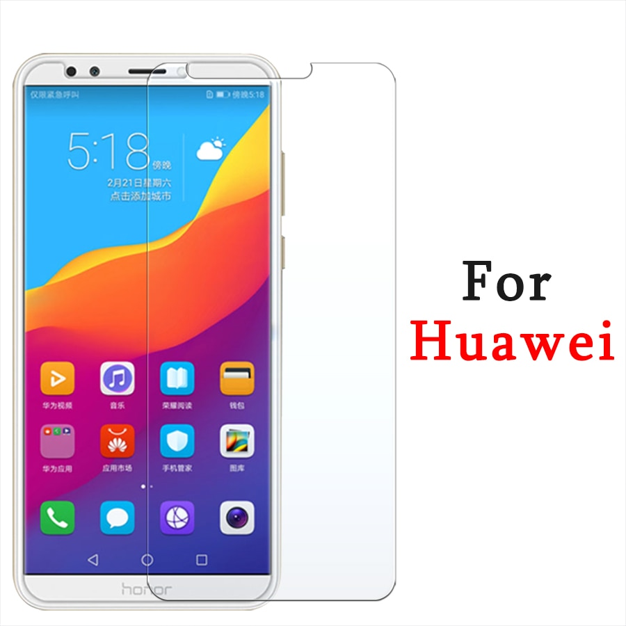 For Huawei Y7 prime 2018 Glass For Huawei Y7 prime 2018 Screen Protector Y6 prime 2018 Tempered Glas
