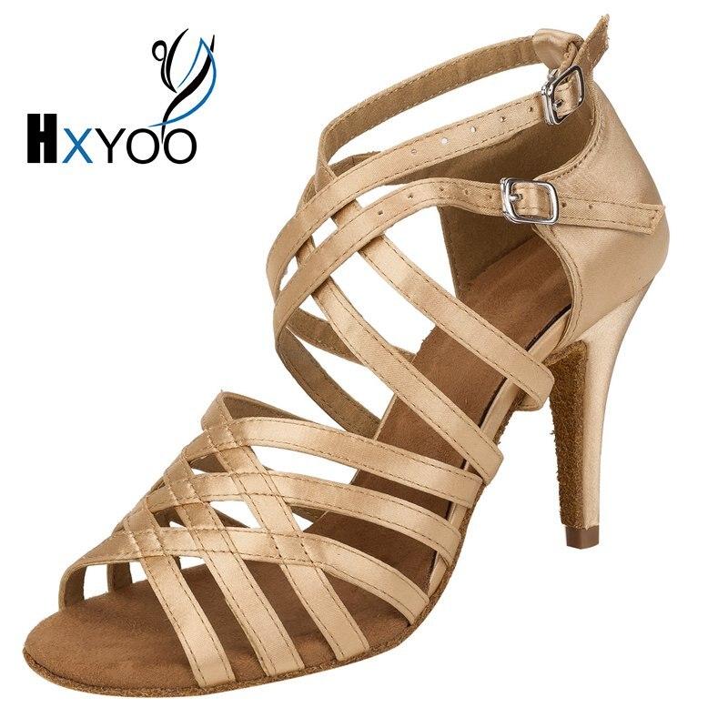 Jual women latin dance shoes ballroom tango salsa elegant dance sandals