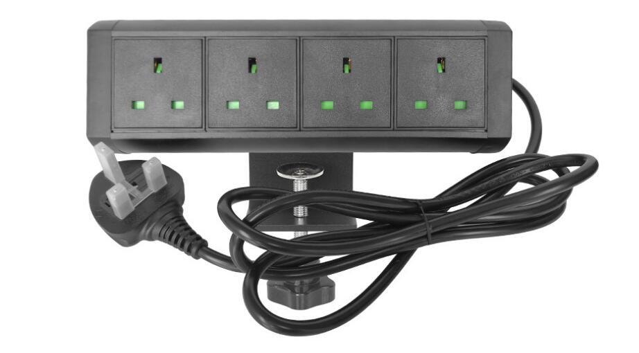 Великобритания аудио визуальный HDMI cat6 гнездо VGA такой же, Как pic алюминиевый сплав полка сидячая подставка настольная розетка настраиваемая...