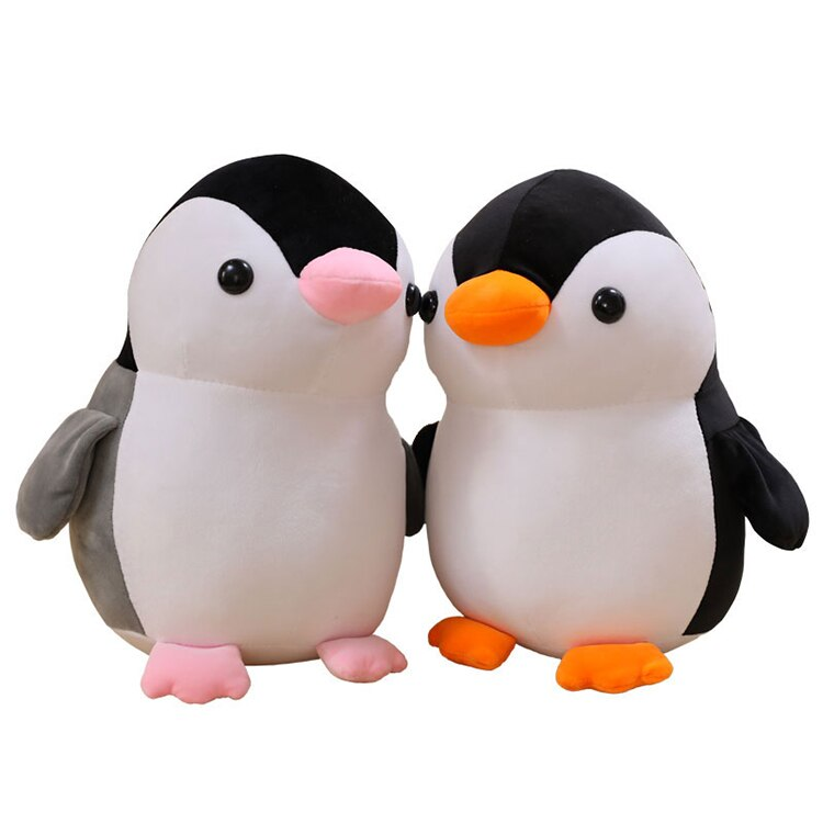 A granel animal relleno niños juguete encantador lindo pingüino de peluche gordo juguete