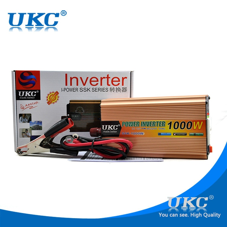 inverter 24v 220v 1000w power inverter universal solar inverter modified sine wave free shipping