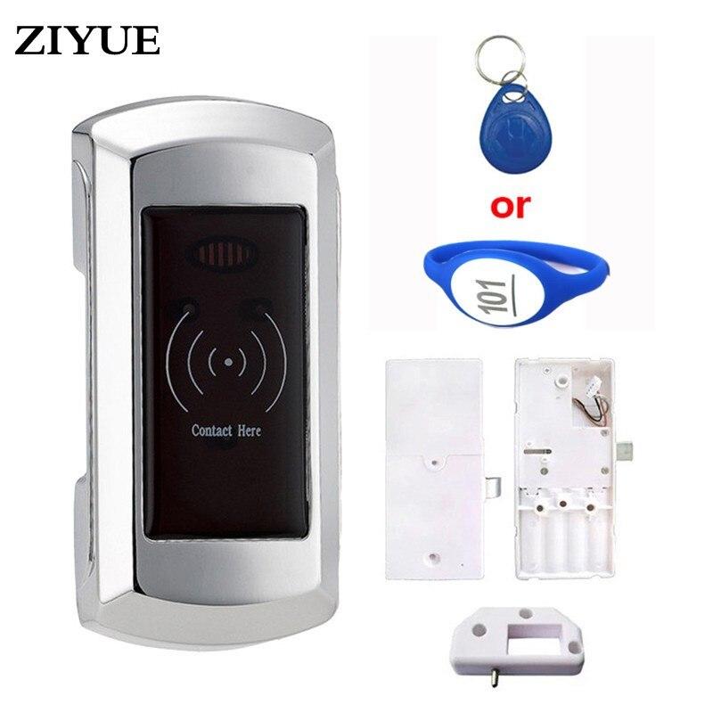 Envío Gratis Digital RF EM etiqueta Sauna RFID tarjeta armario cerradura para piscina Oficina Casa Em108