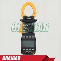 MS2205 Harmonic AC DC Digital Power Clamp Meter RS232 Interface